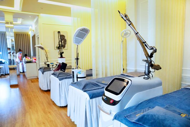 DIVA spa Bến Tre trang bị những công nghệ mới, hiện đại